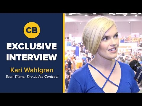Kari Wahlgren - WonderCon Interview