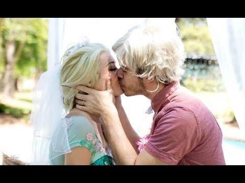 THE JELSA WEDDING (Jack Frost & Queen Elsa)