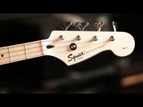 Fender Bronco Bass Guitar Basics | Guitar Setup