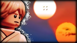 LEGO Binary Sunset -- Star Wars: Episode IV -- A New Hope