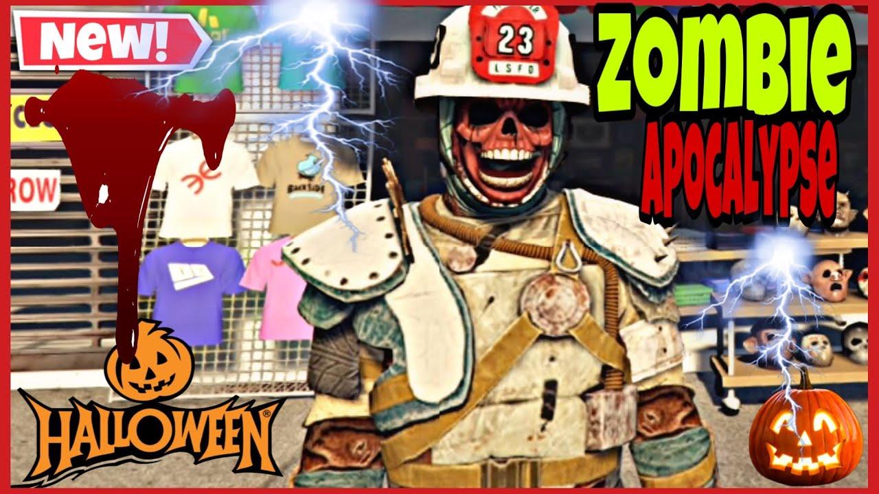 GTA V APOCALIPSE ZOMBIE OUTFIT HALLOWEEN 2020 PS4 /XBOX versão 1. 51