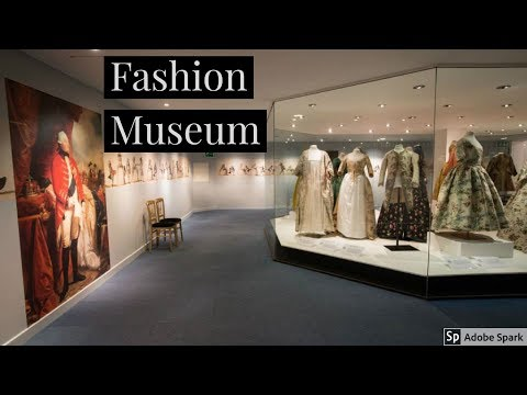 Travel Guide My Holiday To Fashion Museum Bath Spa Somerset UK Review