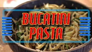 Bucatini Pasta With Fennel And Arugula