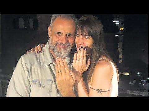 Jorge Rial dio detalles de su boda con Romina Pereiro