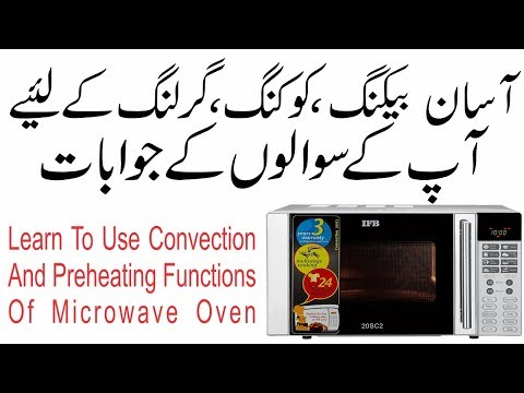 How To Use A Convection Microwave Oven Series Cakes And