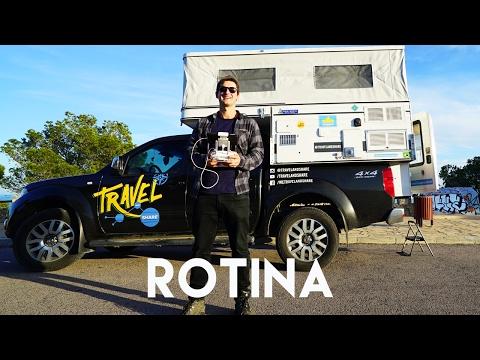 ROTINA DA VIDA NA ESTRADA | MOTORHOME | CONTINUAÇÃO | Romulo e Mirella | T4. Ep.108