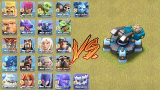 MAX SCATTERSHOT VS ALL MAX TROOPS!!! | WHO WILL WIN !?! | CLASH OF CLANS