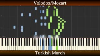 Volodos/Mozart - Turkish March // Synthesia