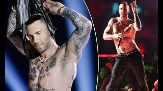 'Super Bowl nipple rules feel inconsistent': Maroon 5's Adam Levine is roasted for going shirtless..