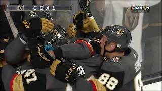 First home goal in Vegas Golden Knights history