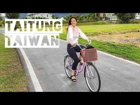 Taitung Taiwan Travel Guide! // Bicycling in Chishang