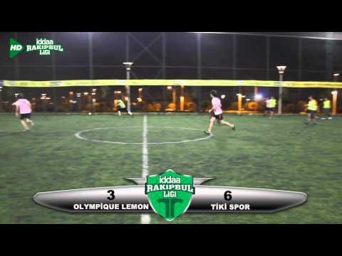 Olympigue Lemon   Tiki Spor Maç Özeti