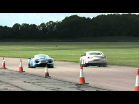 Noble M600 vs Nissan R35 GTR [HD]