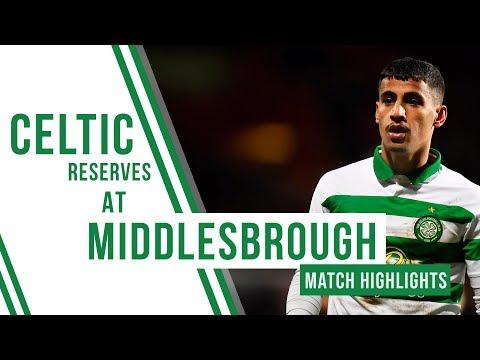 🍀 Highlights: Middlesbrough 1-1 Celitc Reserves | Arzani scores against Boro!