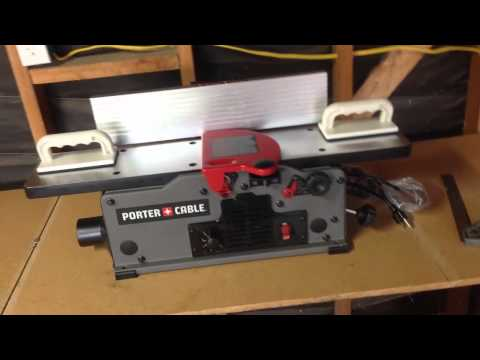 Jointer Setup