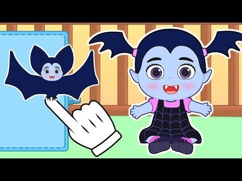 👶 BEBÉS ALEX Y LILY 👶 Lily se disfraza de VAMPIRINA, la nueva personaje de Disney Junior
