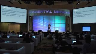Dean Ornish, MD, at Singularity University's Exponential Medicine Conference, Nov. 2013