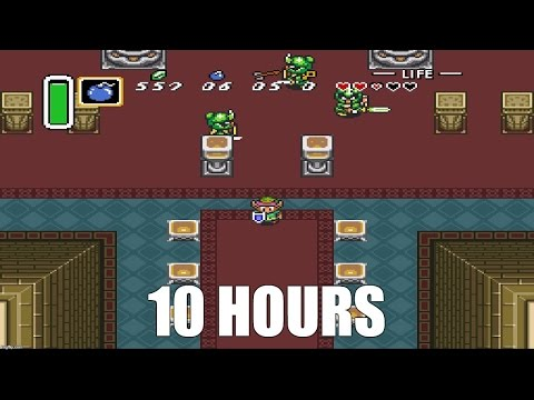 Legend of Zelda: A Link to the Past - Hyrule Castle Theme Extended (10 Hours)