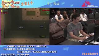 Grand Theft Auto 2 by Kubelwagon in 54:19 - SGDQ2014 - Part 100