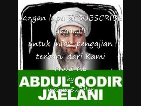 Khaul Syekh 'Abdul Qodir Al Jaelani, Cilongok. 8 Januari 2017  Bagian 1  ZIKIR