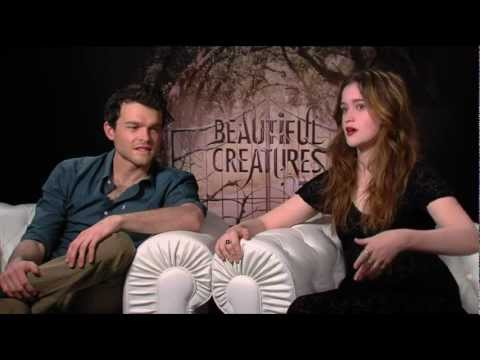 Beautiful Creatures - Alden Ehrenreich & Alice Englert Generic Interview