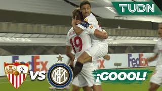 ¡GOLAZO! De Jong ya lo empató | Sevilla 1-1 Inter Milan | Final - Europa League 2020