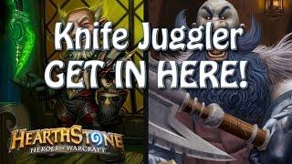 Hearthstone - Knife Juggler, Grim Patron Insanity