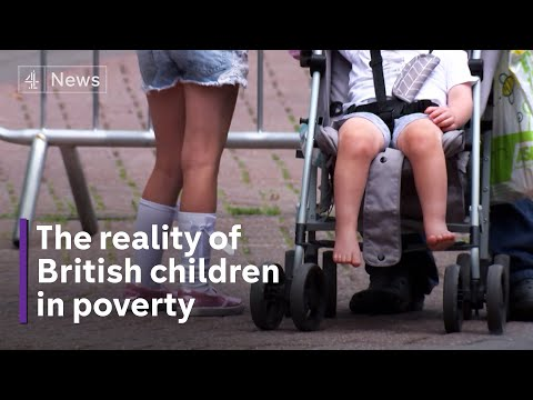 The reality of British children in poverty: no beds to sleep in or clean clothes to wear
