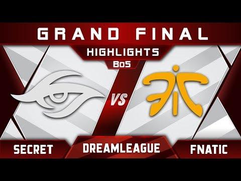 Secret vs Fnatic Grand Final DreamLeague 9 Minor 2018 Highlights Dota 2 thumbnail