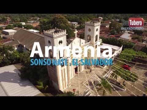 ARMENIA Guaymoco tierra de chivazos El Salvador en Drone