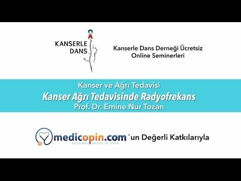 Kanser Ağrı Tedavisinde Radyofrekans - Prof. Dr. Emine Nur Tozan