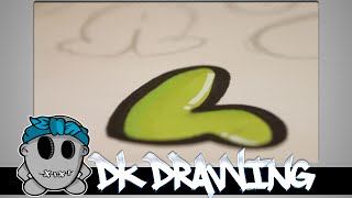 Graffiti Tutorial for beginners - Bubble Letters #6
