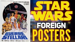 Star Wars Foreign Movie Posters