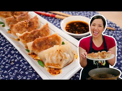 6 Secrets to Juicy Pork Dumplings (Perfect Gyoza!)