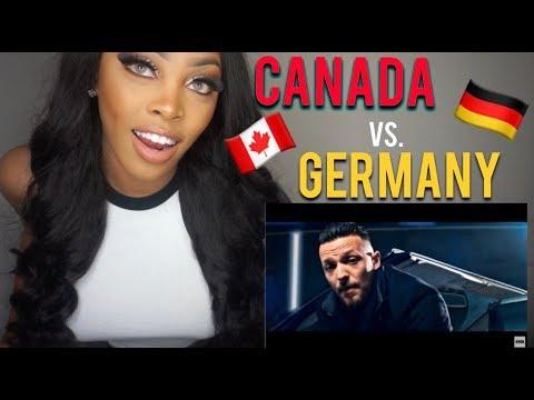 CANADIAN VS. GERMAN MUSIC *REACTION*|Zwischen Himmel,Hölle,Massari,Kay One,ENO