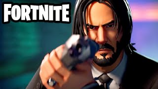 The Real John Wick Joins Fortnite! - Fortnite - Gameplay Part 85