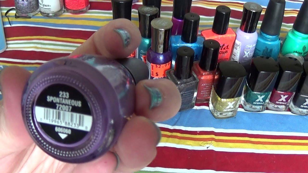 nail art haul from-ebay, ulta, five below, cvs and dollar tree-VERY ...