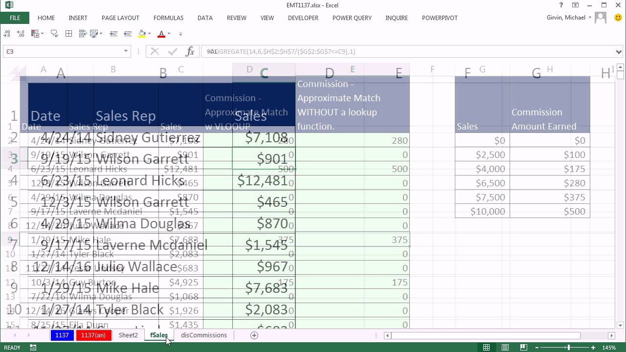 how to find same value in different excel