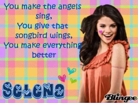 Download Selena gomez i promise you- lyrics on screen ♥