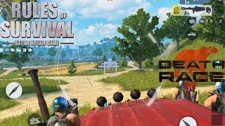 The DEATH RACE NEW MODE is INSANE in Rules Of Survival ! OMG !