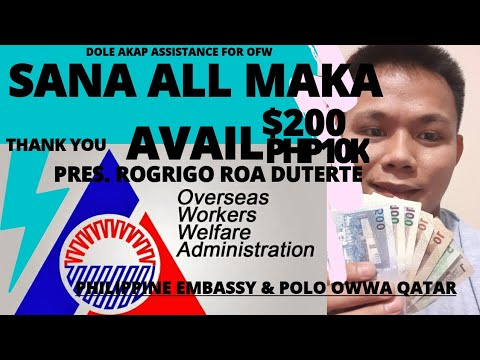 HOW TO APPLY DOLE-AKAP CASH ASSISTANCE FOR OFW DOHA  OWWA DOHA QATAR  #TEAMPAHIRAP #TEAMKAPERFECT