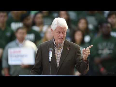 Bill Clinton Speaks in Athens