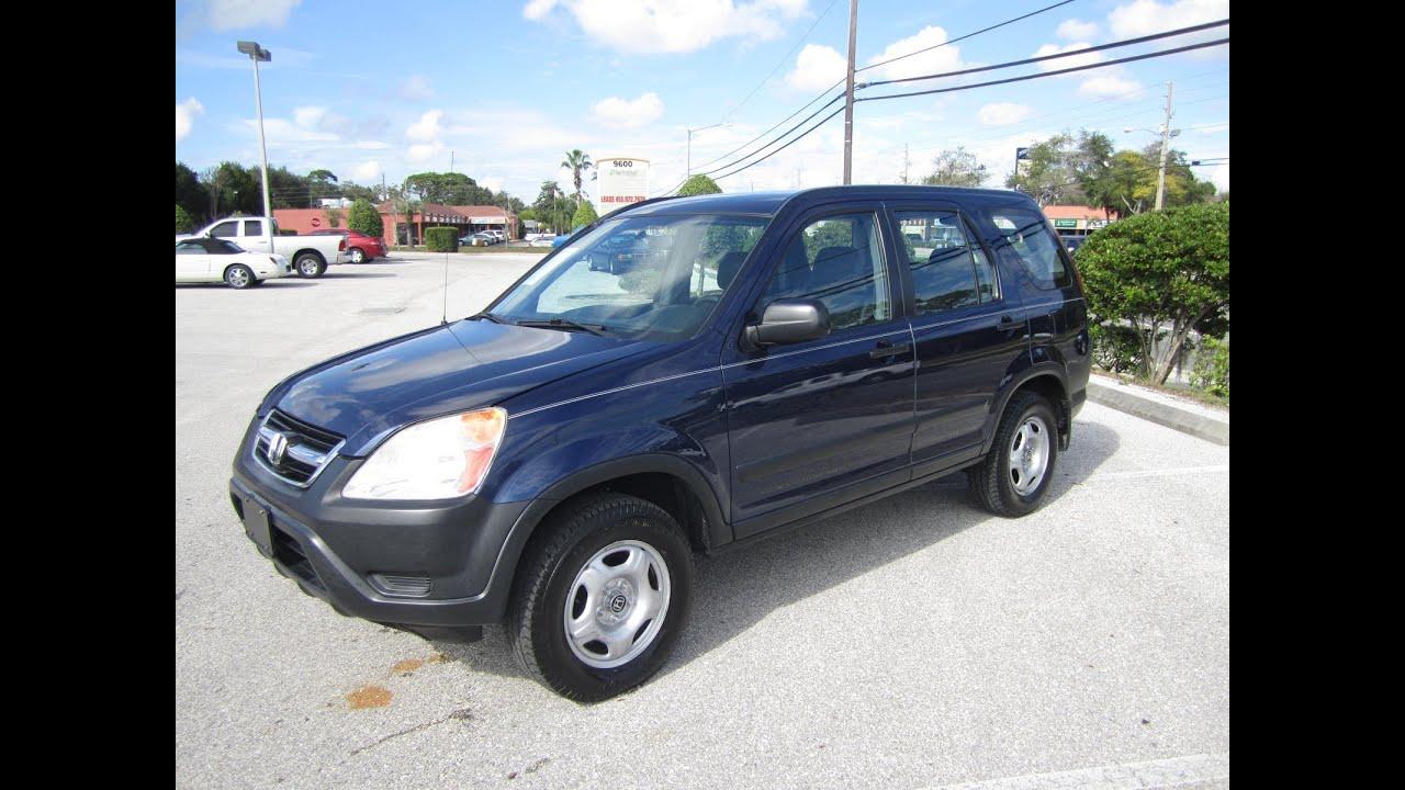 2003 Honda Crv For Sale >> SOLD 2003 Honda CR-V LX 2WD Meticulous Motors Inc For Sale ...