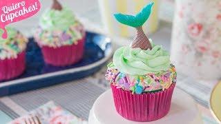 CUPCAKES SIRENA | SÚPER FÁCILES | Quiero Cupcakes!