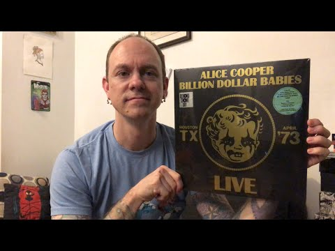 Alice Cooper - Billion Dollar Babies Live - RSD Vinyl Review & Unboxing