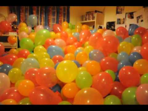 Room Full Of Balloons And Cliff Richard Prank Youtube