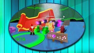 AGGIORNAMENTO DI NATALE (ROBLOX Bubble Gum Simulator)