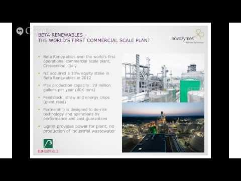 Novozymes Webinar: From Biomass to Bioenergy