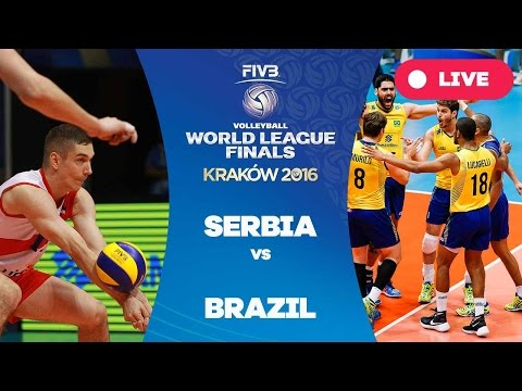 Serbia v Brazil - Group 1: 2016 FIVB Volleyball World League