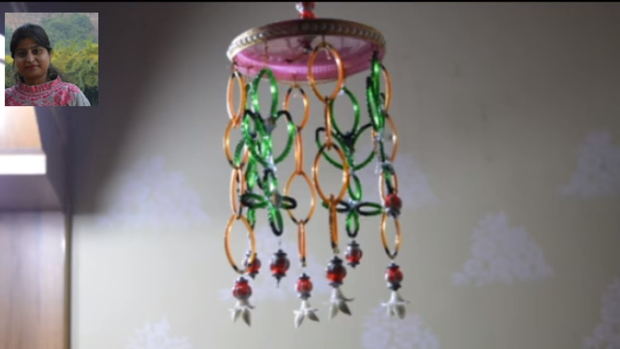 Diy Wind Chime By Old Bangles Old Bangles Craft
